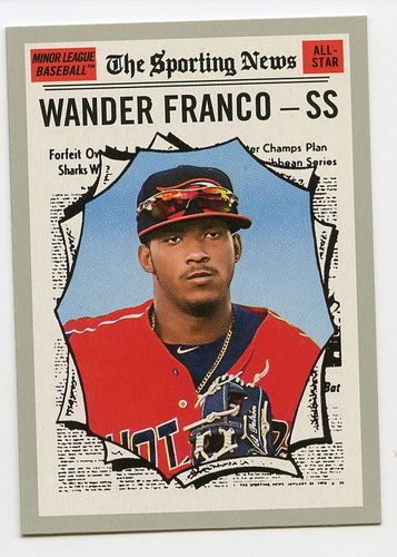 Photo of 2019 Topps Heritage Minors #190 Wander Franco AS