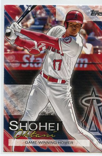 Photo of 2019 Topps Update Shohei Ohtani Highlights #SO15 Shohei Ohtani