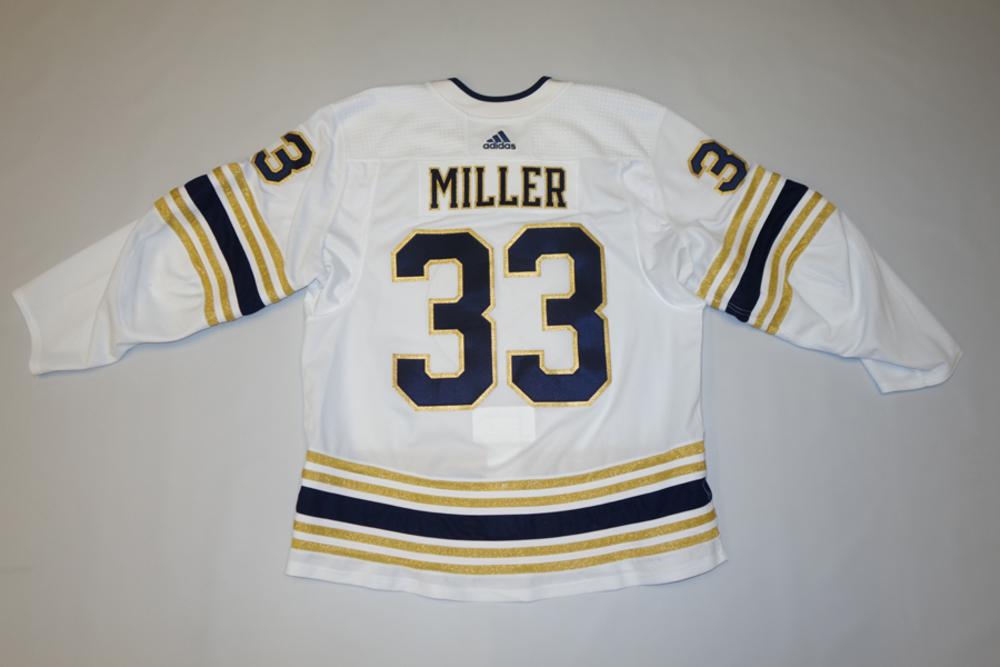 Colin Miller 2019-20 Buffalo Sabres 50th Alternate Jersey Set 2