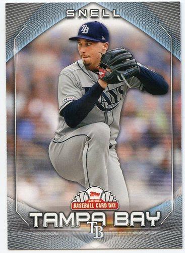 Photo of 2020 Topps National Baseball Card Day #27 Blake Snell