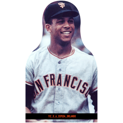 Photo of Giants Community Fund: Giants Orlando Cepeda Cutout