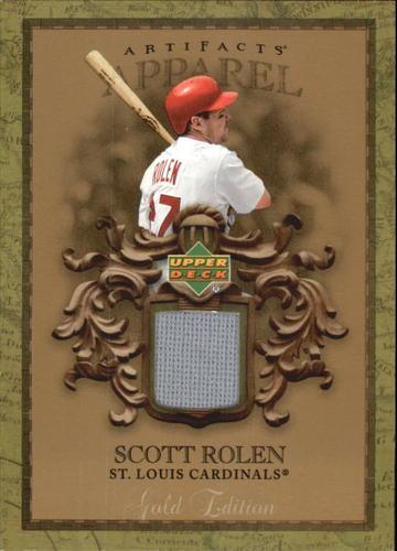Photo of 2007 Artifacts MLB Apparel Gold #SR Scott Rolen