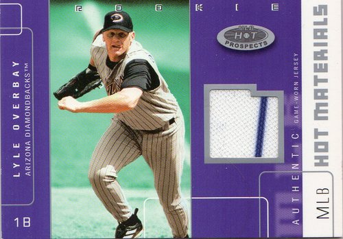 Photo of 2003 Hot Prospects MLB Hot Materials #LO Lyle Overbay Jsy