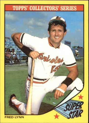 Photo of 1986 Woolworth's Topps #18 Fred Lynn