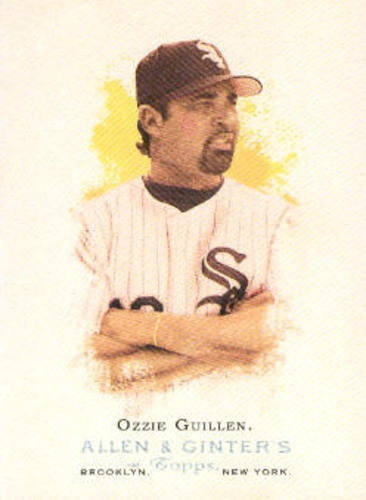 Photo of 2006 Topps Allen and Ginter #294 Ozzie Guillen MG
