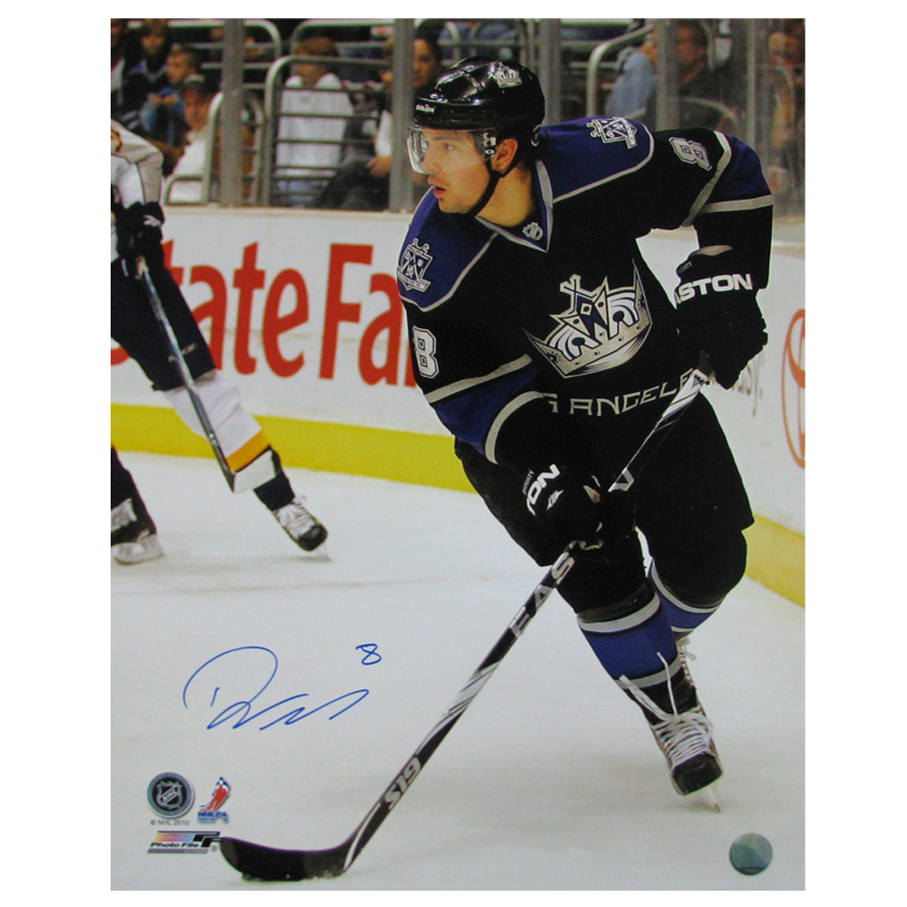 DREW DOUGHTY Signed Los Angeles Kings 16 X 20 Photo - 79015