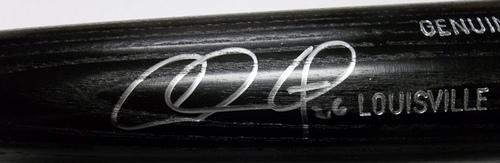 Photo of Chase Utley Autographed Louisville Slugger Bat