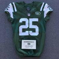 New York Jets - 2014 #25 Calvin Pryor Game Worn Jersey