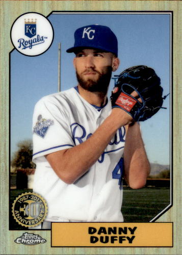 Photo of 2017 Topps Chrome '87 Topps #87T19 Danny Duffy