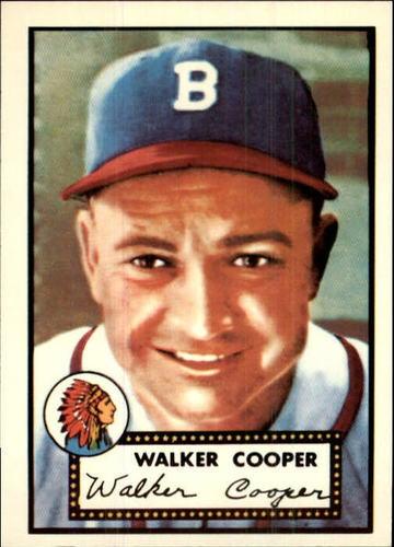 Photo of 1983 Topps 1952 Reprint #294 Walker Cooper