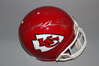 HOF - CHIEFS WILL SHIELDS SIGNED CHIEFS PROLINE HELMET