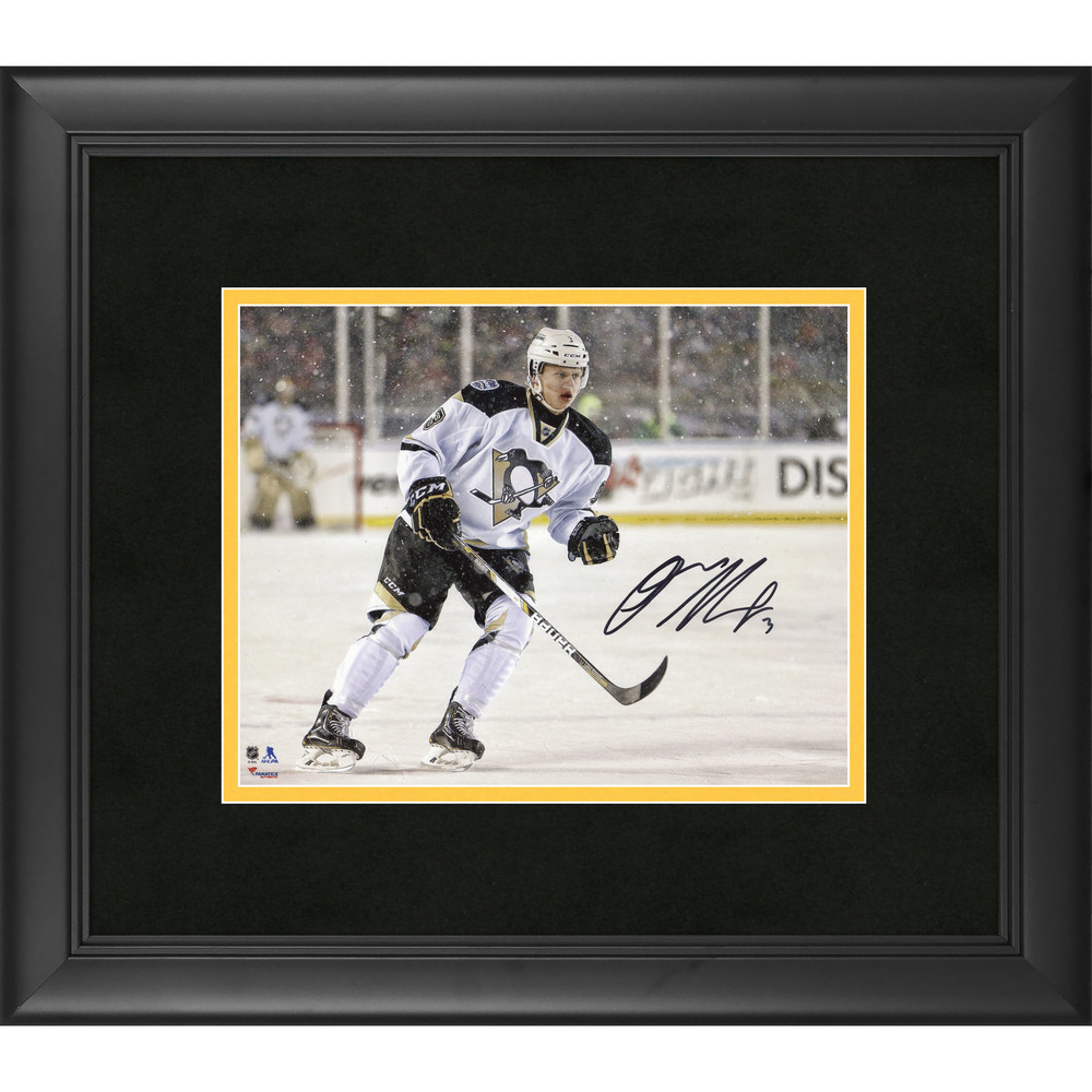 04d71be3e Olli Maatta Pittsburgh Penguins Framed Autographed Stadium Series 8