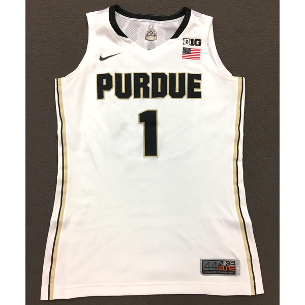 Photo of Morrissette #1 Purdue Women's Basketball 2016-17 White Jersey