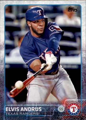 Photo of 2015 Topps #281A Elvis Andrus