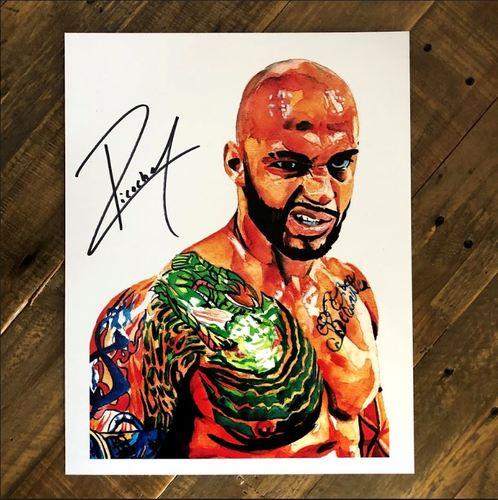 Photo of Ricochet SIGNED 11 x 14 Rob Schamberger Print