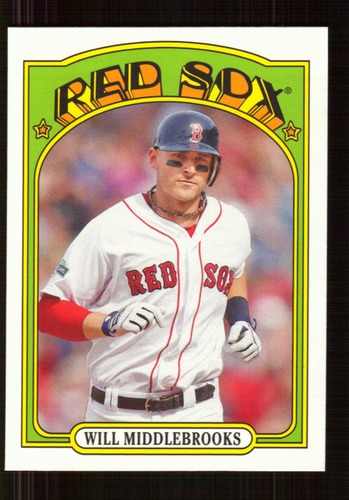 Photo of 2013 Topps 1972 Topps Minis #TM89 Will Middlebrooks