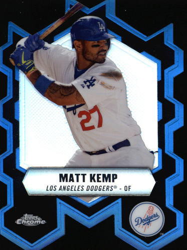 Photo of 2013 Topps Chrome Chrome Connections Die Cuts #CCMK Matt Kemp