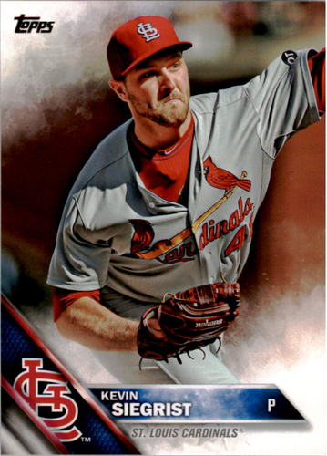 Photo of 2016 Topps #107 Kevin Siegrist