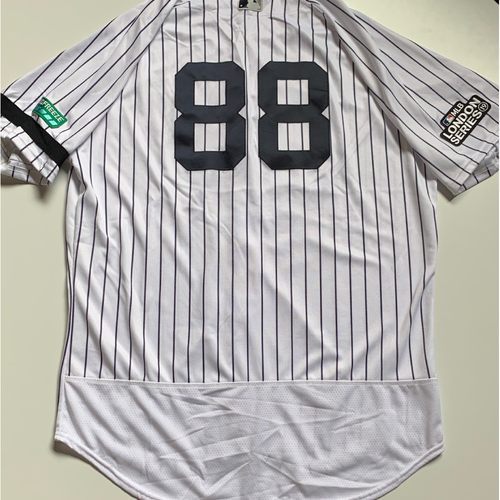 Photo of 2019 London Series - Game-Used Jersey - Phil Nevin, New York Yankees vs Boston Red Sox - 6/29/19