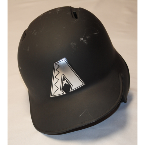 "Photo of Eduardo ""EL DE LA PICA"" Escobar Arizona Diamondbacks Game-Used 2019 Players' Weekend Helmet"