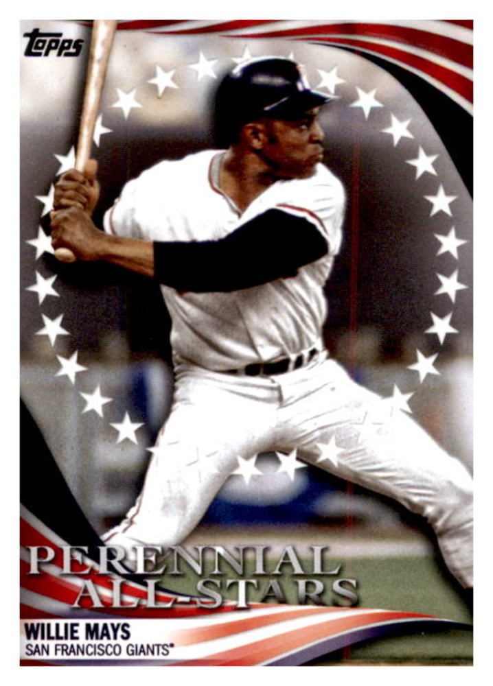 2019 Topps Update Perennial All Stars #PAS9 Willie Mays
