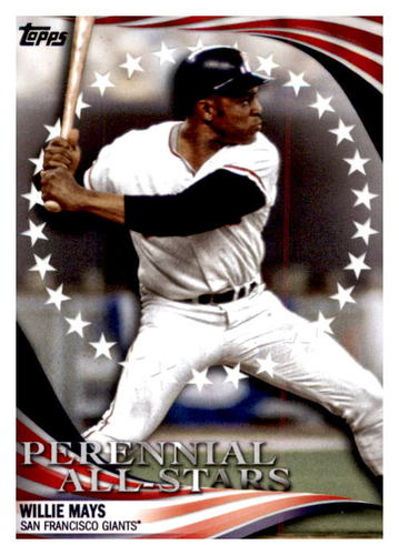 Photo of 2019 Topps Update Perennial All Stars #PAS9 Willie Mays