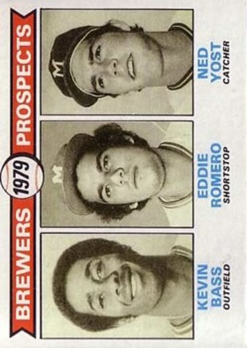 Photo of 1979 Topps #708 Kevin Bass RC/Eddie Romero RC/Ned Yost RC