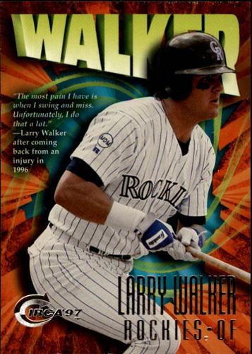 Photo of 1997 Circa #377 Larry Walker