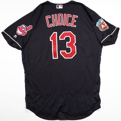 Photo of 2016 Spring Training - Spring Training Game Used Jersey - Michael Choice (Indians)- Size- 48