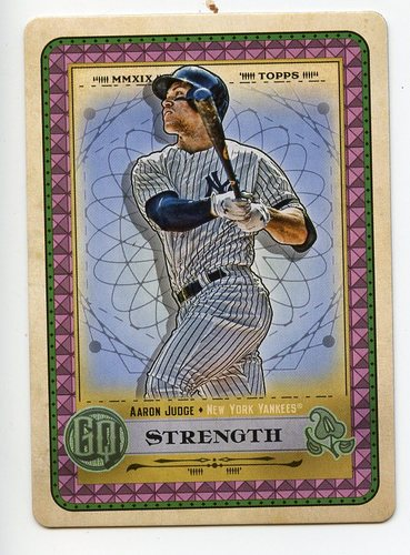 Photo of 2019 Topps Gypsy Queen Tarot of the Diamond #22 Aaron Judge