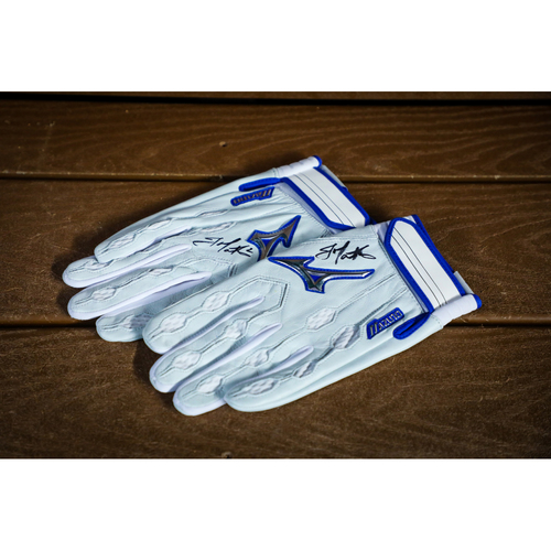 Photo of Jeff Mathis Autographed Batting Gloves - NOT MLB AUTHENTICATED - Certificate of Authenticity Included