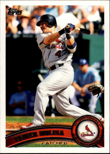 Photo of 2011 Topps #90A Yadier Molina