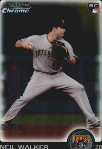 Photo of 2010 Bowman Chrome Draft #BDP83 Neil Walker (RC)