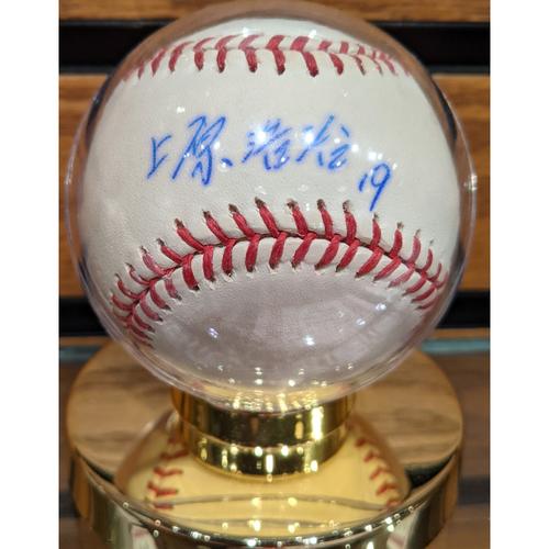 Photo of Koji Uehara Autographed Baseball