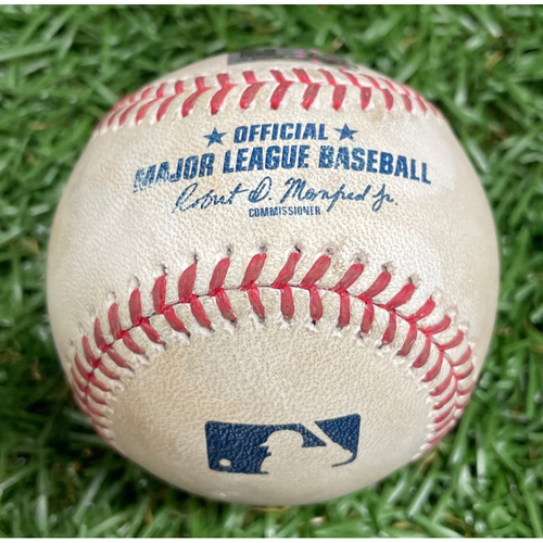 Photo of Spring Training Game-Used Baseball: Josh Fleming Strikes Out Jarren Duran - Top 5 - March 26, 2021 v BOS