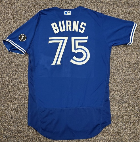 Photo of Authenticated Team Issued Jersey: #75 Andy Burns (2020 Season). No Set. Size 46.