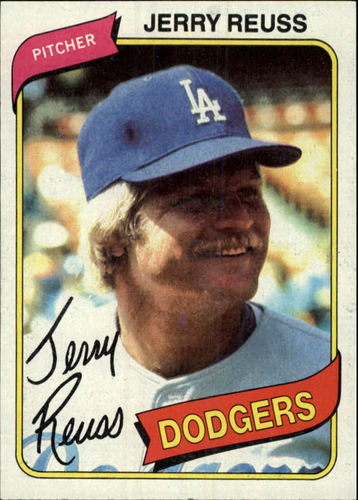 Photo of 1980 Topps #318 Jerry Reuss