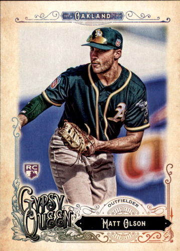 Photo of 2017 Topps Gypsy Queen #14 Matt Olson Rookie Card