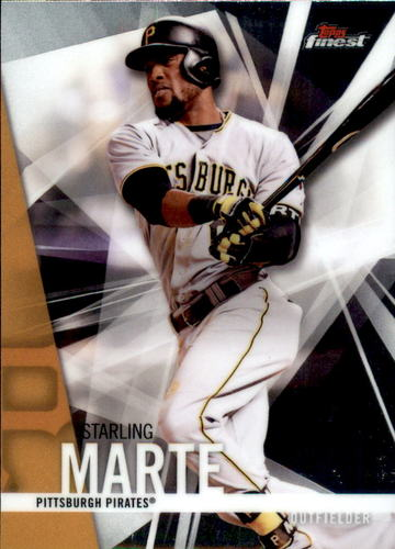 Photo of 2017 Finest #94 Starling Marte