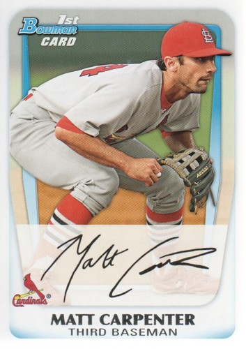 Photo of 2011 Bowman Prospects #BP66 Matt Carpenter Pre-rookie Card