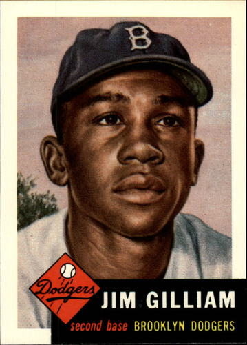 Photo of 1991 Topps Archives 1953 #258 Jim Gilliam