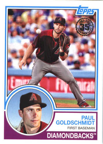 Photo of 2018 Topps '83 Topps #8383 Paul Goldschmidt