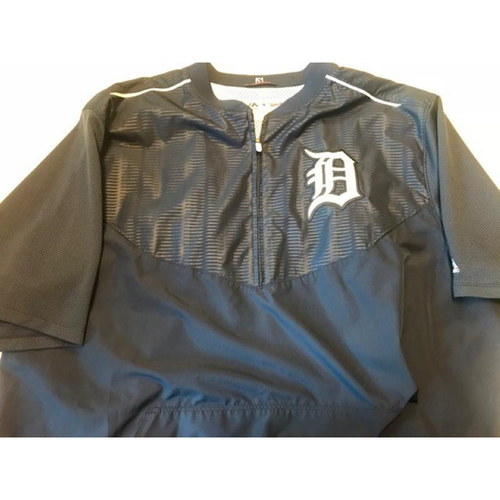 Photo of Team-Issued #41 Home Batting Practice Jacket