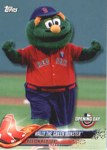 Photo of 2018 Topps Opening Day Mascots #M2 Wally the Green Monster