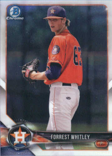 Photo of 2018 Bowman Chrome Prospects #BCP147 Forrest Whitley