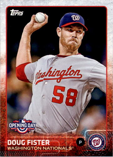 Photo of 2015 Topps Opening Day #180 Doug Fister