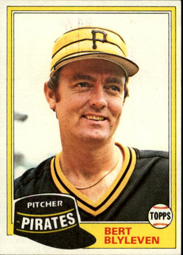 Photo of 1981 Topps #554 Bert Blyleven