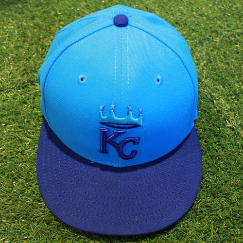 Photo of Game-Used Players' Weekend Cap: Kevin McCarthy (Size 7 3/8 - CLE @ KC -  8/26/18)