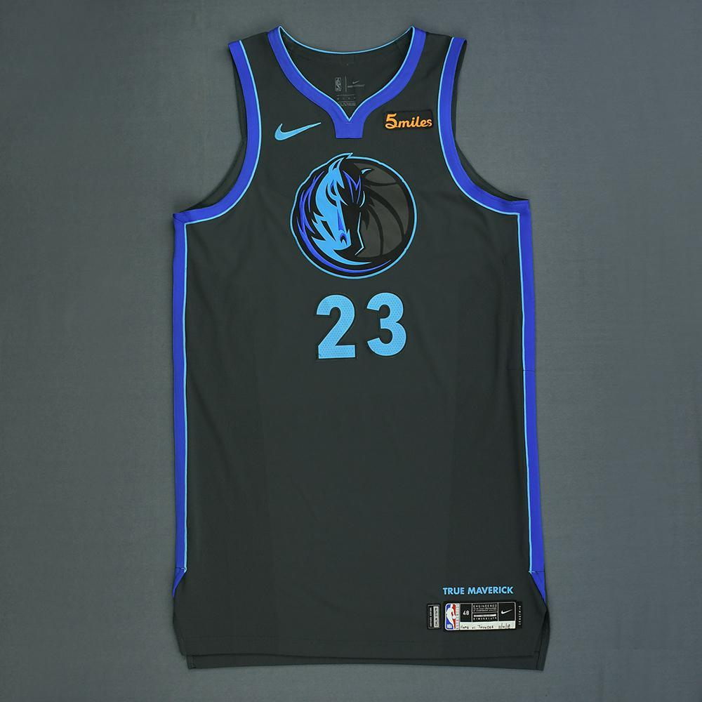 Wesley Matthews - Dallas Mavericks - Game-Worn City Edition Jersey - 2018-19 Season