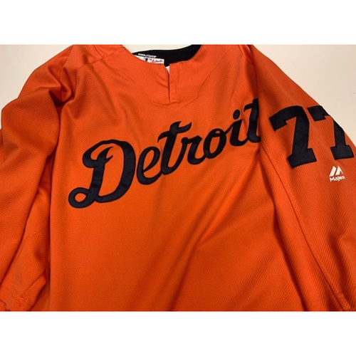 Photo of Team Issued #77 Road Batting Practice Jersey